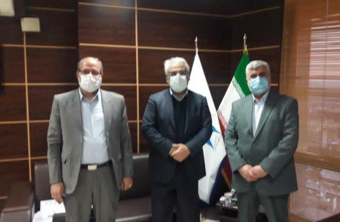 دیدار و گفتگوی علیرضا ورناصری نماینده مسجدسلیمان با رئیس دانشگاه آزاد اسلامی کشور