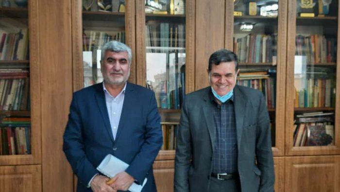 دیدار و گفتگوی دکتر دیدار و گفتگوی دکتر علیرضا ورناصری با رئیس دانشگاه فرهنگیان کشور