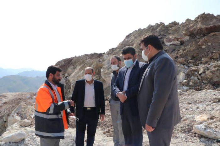 بازدید مدیران استانی از جاده رانشی پاگچ مسجدسلیمان به دعوت نماینده مجلس + تصاویر