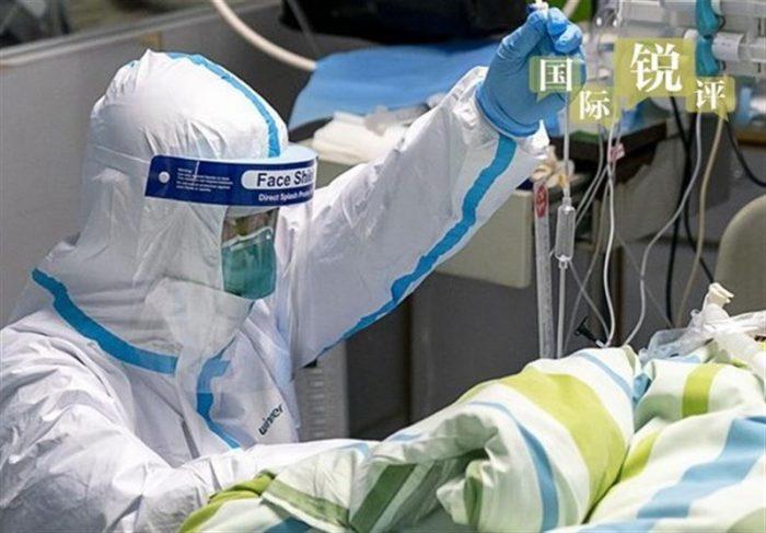 پذیرش بیماران توسط پزشک کرونایی در مسجدسلیمان