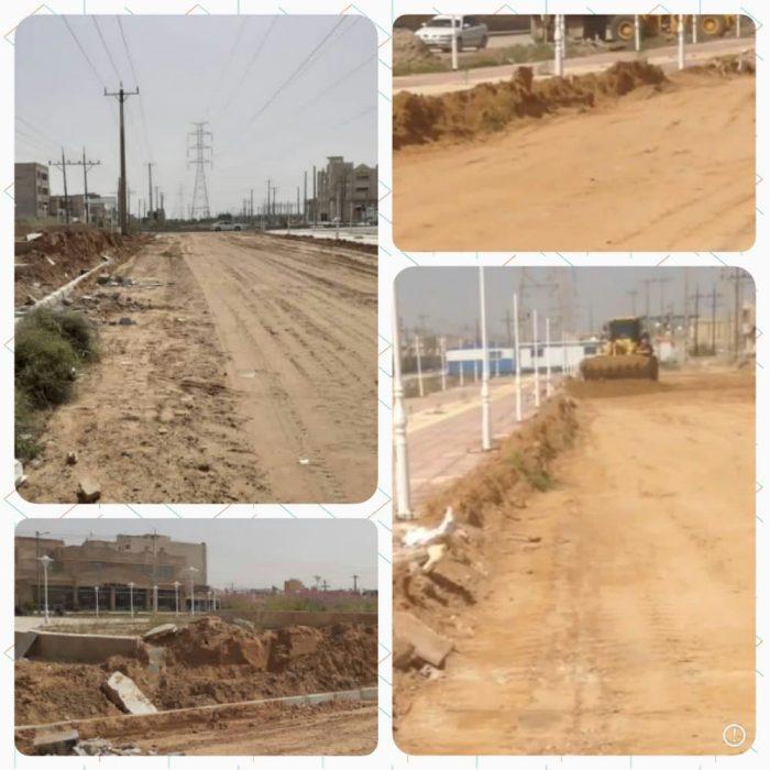 رفع تصرف از اراضی مسکن و شهرسازی در محدوده شهری امیدیه