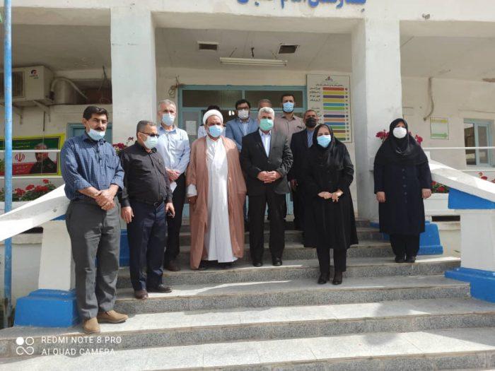 بازدید نماینده مردم مسجدسلیمان، اندیکا، لالی و هفتکل در مجلس شورای اسلامی از بیمارستان نفت مسجدسلیمان + تصاویر