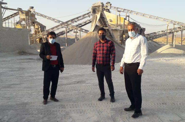 رئیس اداره صمت معدن تجارت شهرستان هندیجان خبرداد: بازرسی ازسنگ شکن ها باهمکاری تعزیرات شهرستان هندیجان وامیدیه