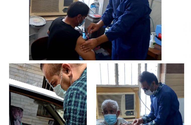 ادامه واکسیناسیون بیماران خاص و صعب العلاج در هندیجان