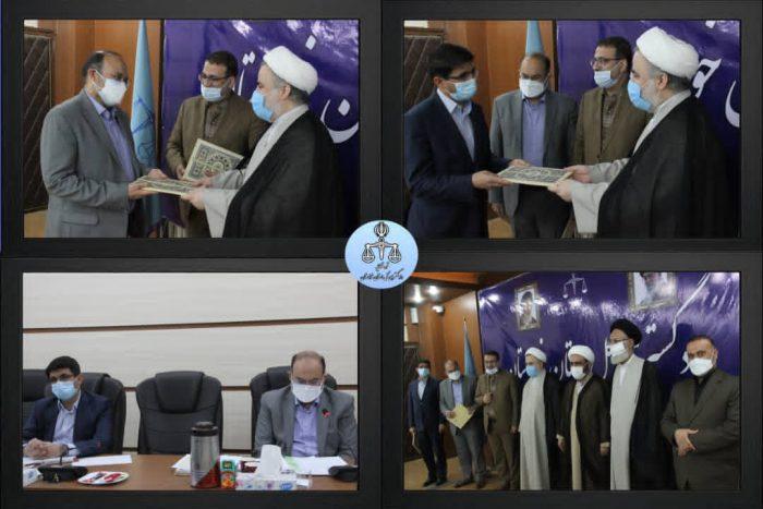 رئیس جدید شوراهای حل اختلاف خوزستان معرفی شد + تصاویر