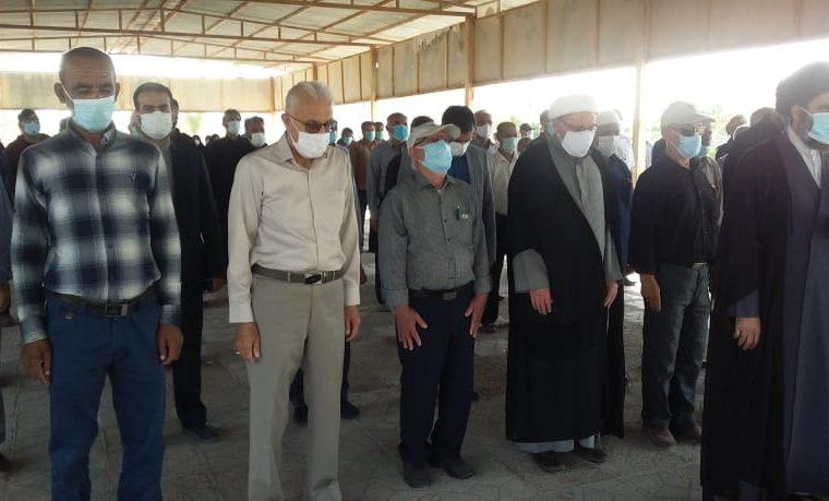 پیام تشکر خانواده ملحان از حضور مسئولین و مردم در مراسم پدر شهید ملحان