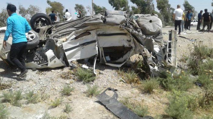 ۳ کشته در سانحه رانندگی محور گتوند-شوشتر