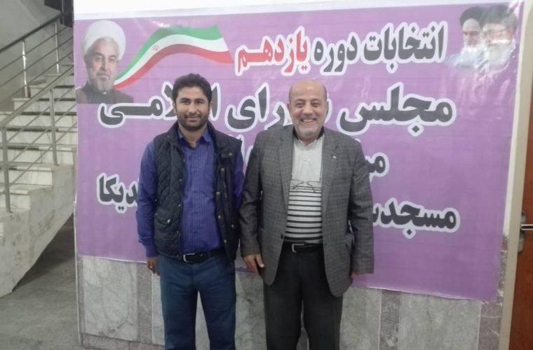 اعلام حمایت سردار سازندگی از محمدحسین مهمدی در انتخابات شورای شهر مسجدسلیمان