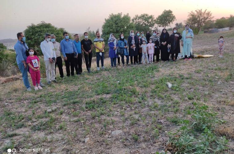 برگزاری جشن تولد درختی و پاسداشت مقام محیط بان در مسجدسلیمان+ تصاویر