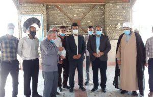 ادای احترام به مقام شامخ شهداء گمنام توسط مسئولین و کارکنان دستگاه قضائی شهرستان هندیجان