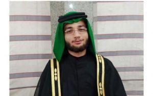 انتصاب مسئول کمیته مداحان جوان رئیسی در خوزستان