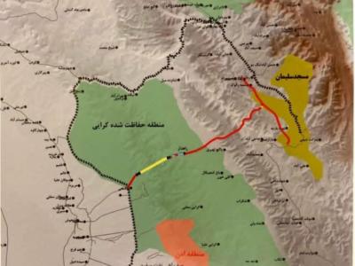 مجوز زیست محیطی جاده اهواز – مسجدسلیمان صادر نشده است + سند