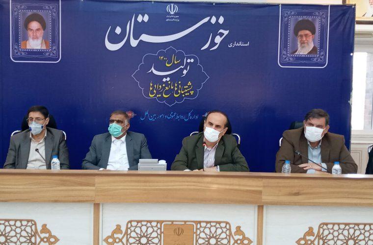 مصوبات نشست مدیریت بحران استان خوزستان به هیات دولت میرود
