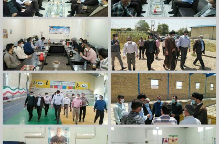 سفر مدیرکل ورزش و جوانان استان در شهرستان آغاجاری