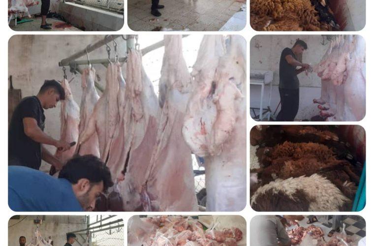 رئیس کمیته امداد هندیجان خبرداد: توزیع بیش از ۲۰۰ بسته گوشت قربانی توسط کمیته امداد امام خمینی هندیجان در بین نیازمندان شهرستان