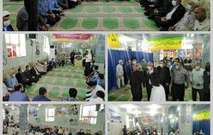 برپایی میز خدمت جهت پاسخگویی به مشکلات مردم آغاجاری در مسجد جامع برگزارشد
