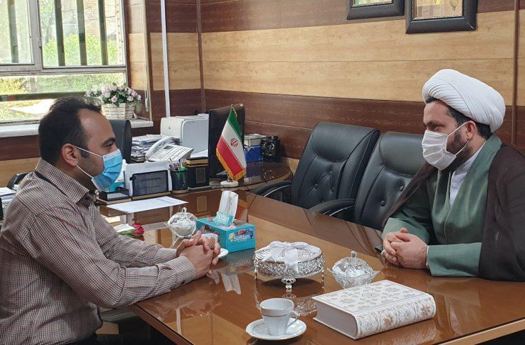 حجت الاسلام همت پور: کادر درمان در خط مقدم مبارزه با کرونا جانفشانی می کنند