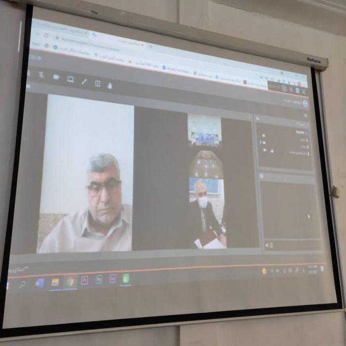 جلسه کمیته برنامه ریزی شهرستان لالی باحضور ویدئوکنفرانسی  علیرضا ورناصری برگزار شد + تصاویر