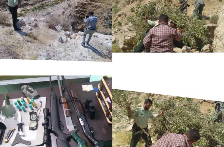 دستگیری شکارچیان غیرمجاز در شهرستان اندیکا ادامه دارد