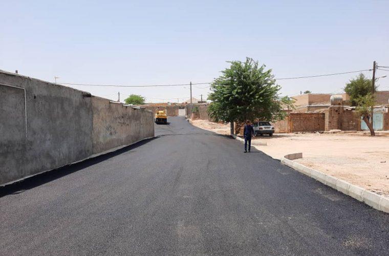 اجرای پروژه های آسفالت در روستاهای بخش مرکزی شهرستان امیدیه طی روزهای آینده