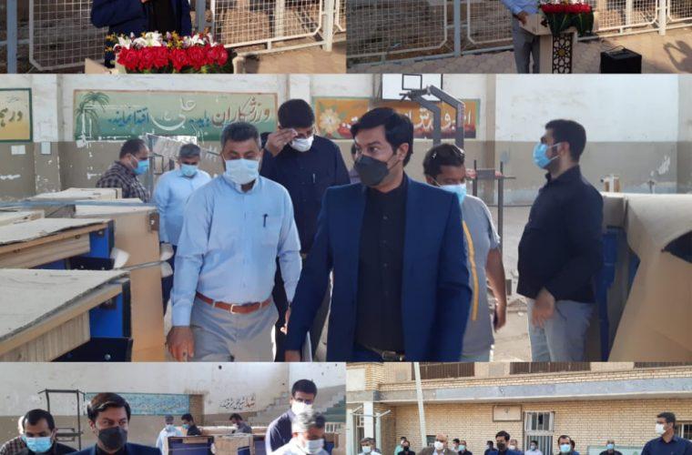 توزیع ۱۶۰ میز تنیس و فوتبال دستی در سطح شهرستان شادگان