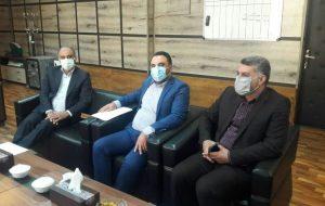 تاکید فرماندار آغاجاری در دیدار با مدیرکل ثبت اسناد و املاک استان خوزستان در تسریع صدور اسناد اراضی شهرستان آغاجاری
