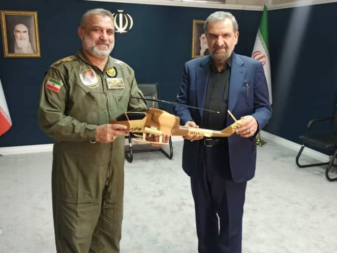 دیدار امیر قربانی، فرمانده هوانیروز با دبیر مجمع تشخیص مصلحت نظام