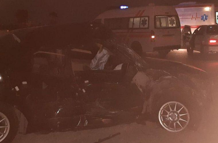 تصادف زنجیره ای در جاده آبادان – اهواز ۱۰ مصدوم برجا گذاشت