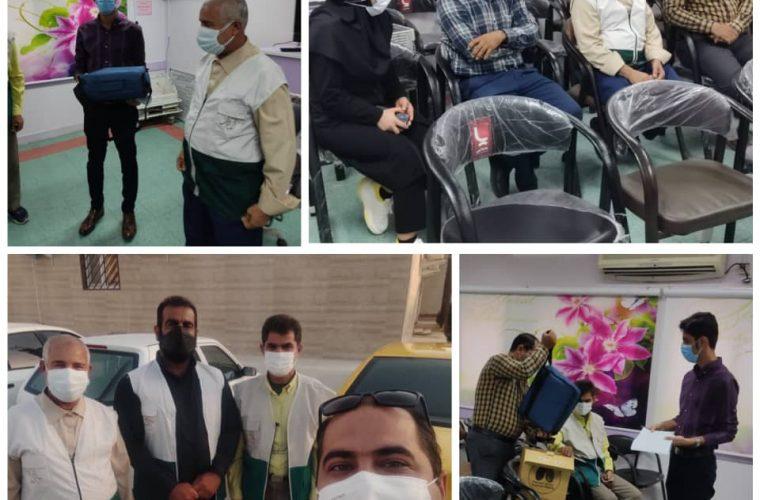 اهدای دستگاه کمک تنفسی bipap به بیمارستان امام رضا(ع) شهرستان امیدیه