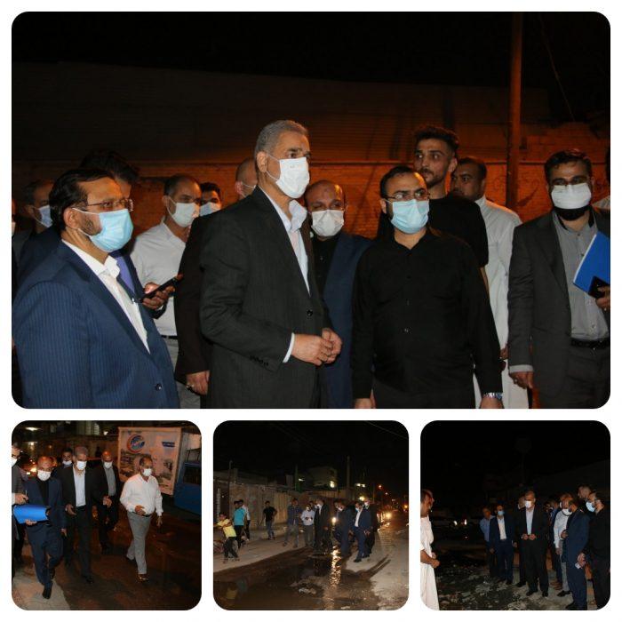 استاندار جدید خوزستان گام اول خدمت را انقلابی و جهادی برداشت / تاکید بر تهیه و اجرای برنامهای عاجل برای حل مشکل نقاط بحرانی پیش از فصل بارندگی