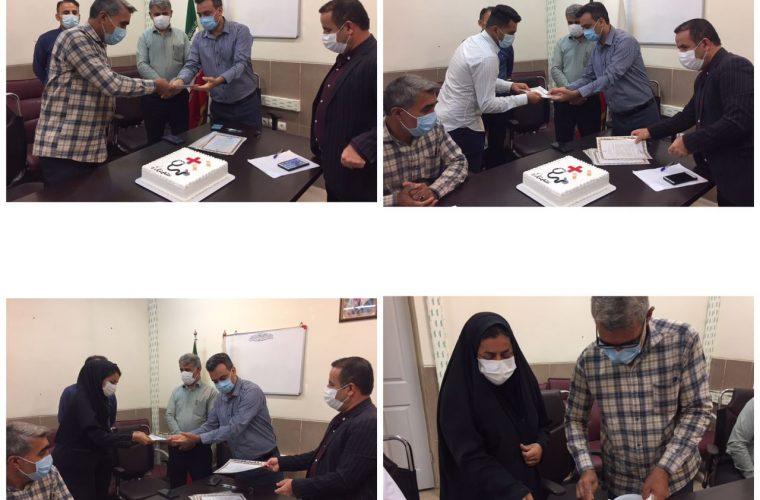 برگزاری جشن روز بهورز در شبکه بهداشت و درمان شهرستان هندیجان