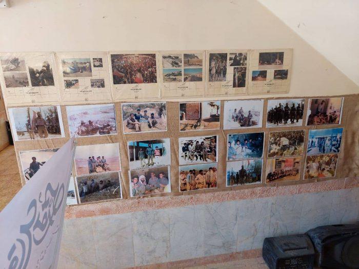 برپایی نمایشگاه عکس و پوستر به مناسبت هفته دفاع مقدس در شهرداری هندیجان