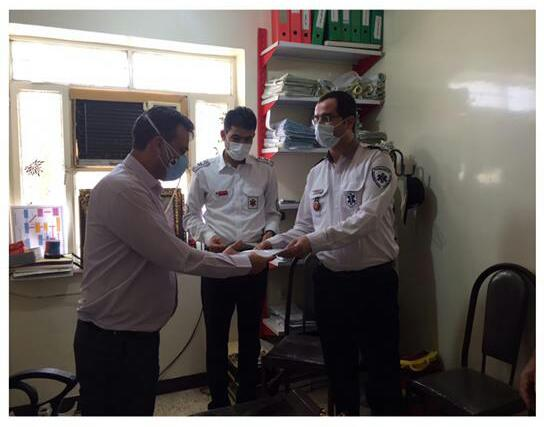 دیدار و تقدیر از کارکنان فوریتهای پزشکی هندیجان توسط مدیر شبکه بهداشت و درمان این شهرستان + تصاویر