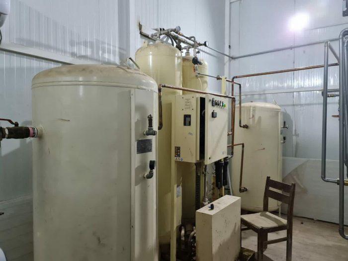 نصب چهارمین دستگاه اکسیژن ساز در بیمارستان ولیعصر خرمشهر
