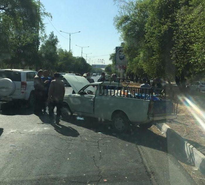 حوادث | واژگونی پیکان بار در مسیر دزفول اندیمشک ۱۲ مصدوم برجا گذاشت