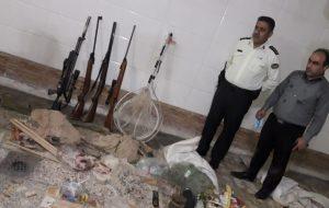 دستگیری ۲ صیاد و یک شکارچی متخلف در دزفول