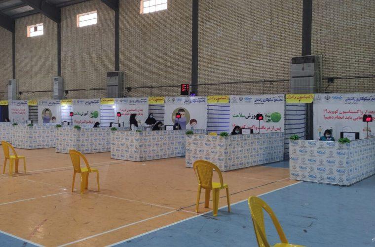 هفتمین مرکز تجمیعی واکسیناسیون دزفول راه اندازی شد