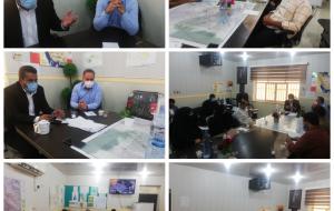 جلسه هماهنگی ویژه واکسیناسیون دانش آموزان بالای ۱۲ سال شهرستان دشت آزادگان برگزار شد