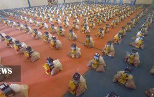 رزمایش کمک های مومنانه به مناسبت گرامیداشت هفته وحدت در مسجدسلیمان برگزار گردید