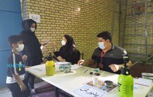 اجرای طرح بزرگ گروه جهادی پزشکی هیئت رزمندگان (ثارالله) شهدای گمنام شهرستان بندر ماهشهر + تصاویر