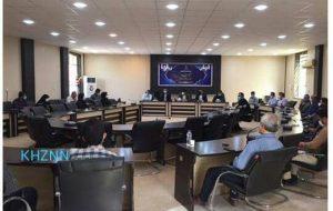 جلسه ستاد کرونا و شورای سلامت شهرستان هندیجان در سالن جلسات فرمانداری برگزار شد + تصاویر